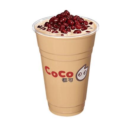 CoCo红豆奶茶